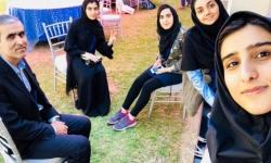 کسب رتبه چهارم مسابقات ملی ریاضی توسط دانش آموزان مجتمع ابوظبی